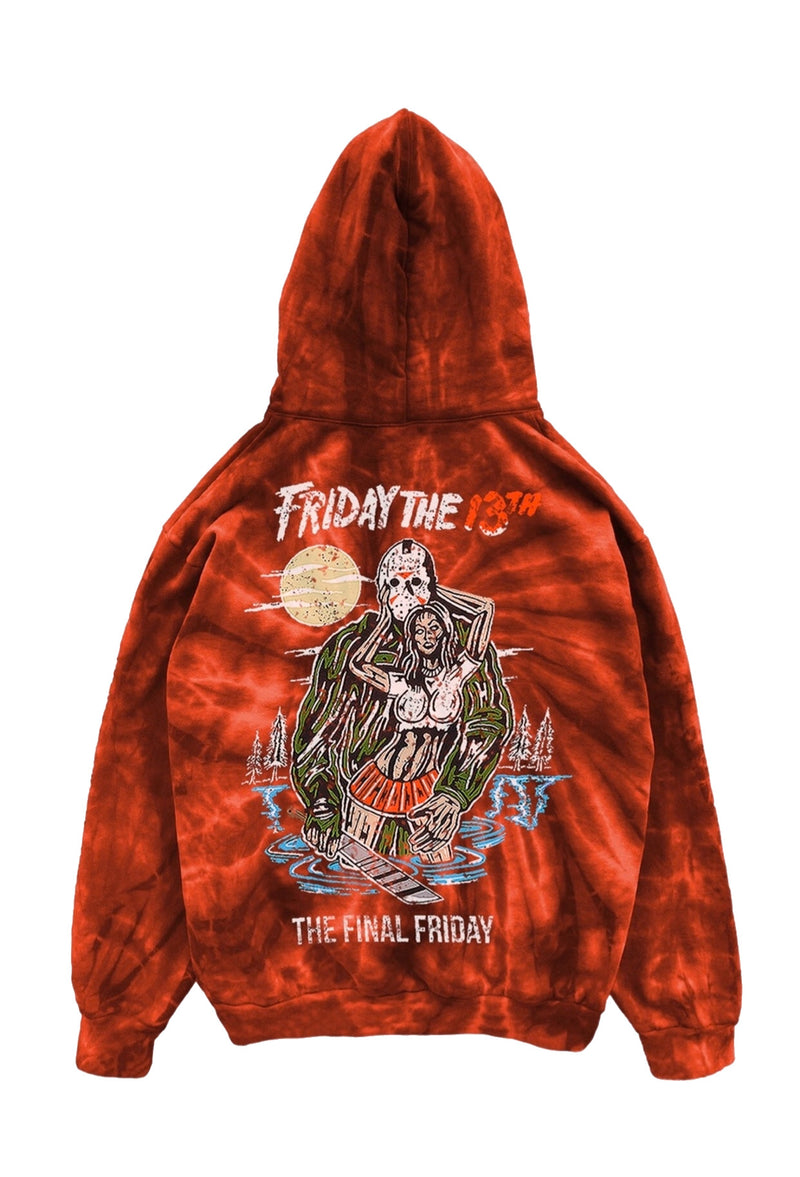 Warren Lotas Friday the 13th hoodie
