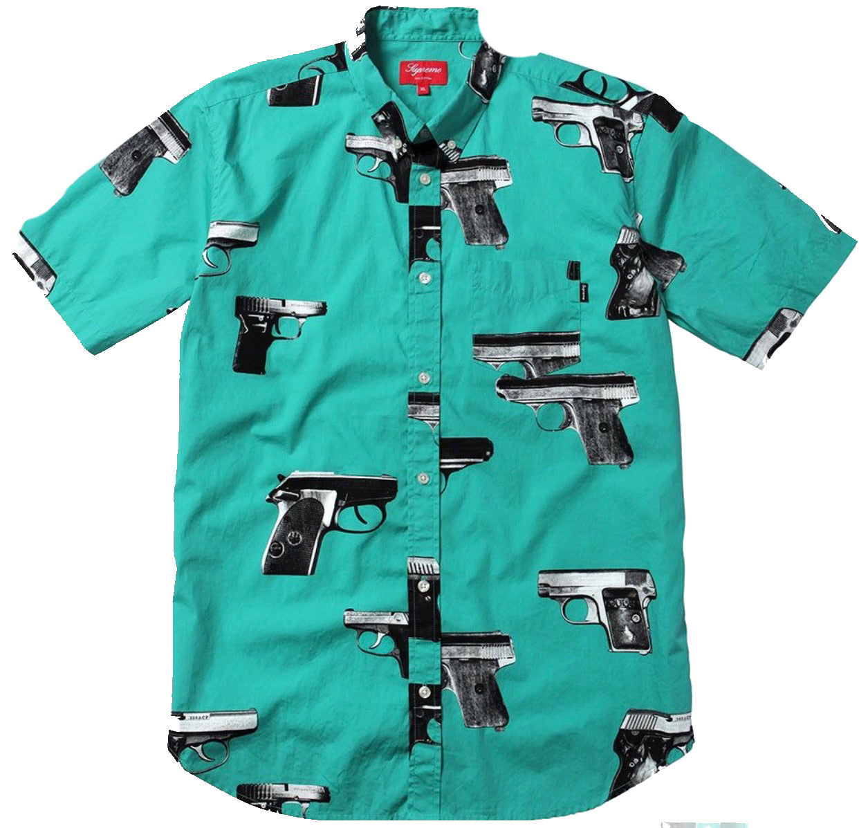 Supreme gun button-up