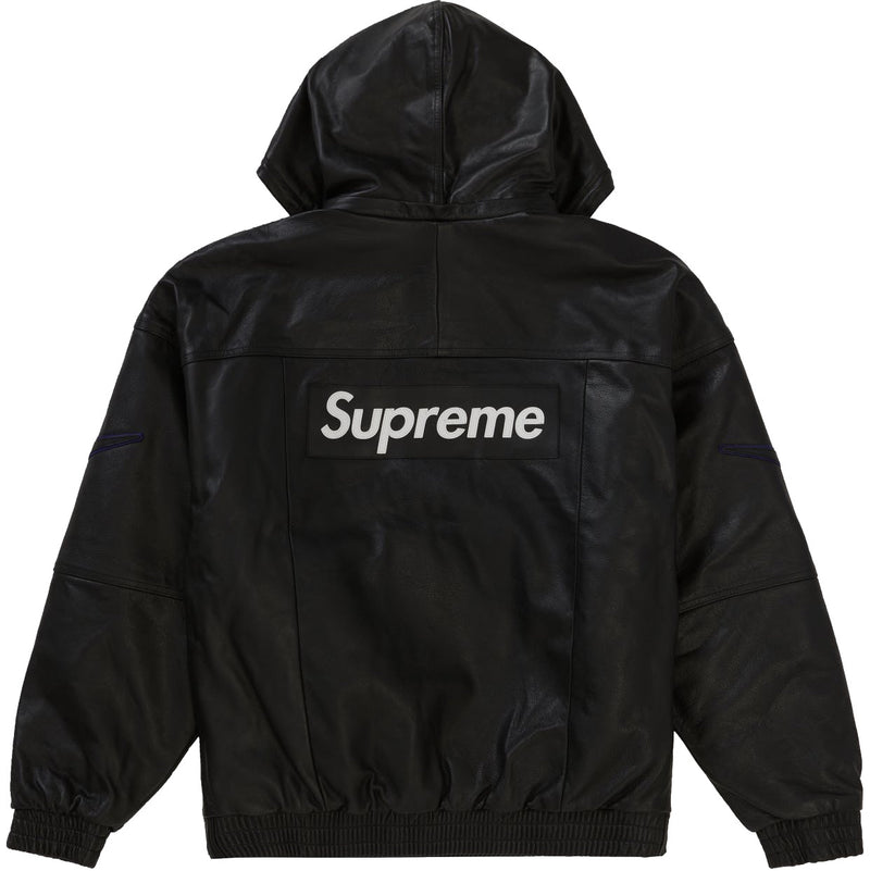 Supreme X Nike leather Pullover