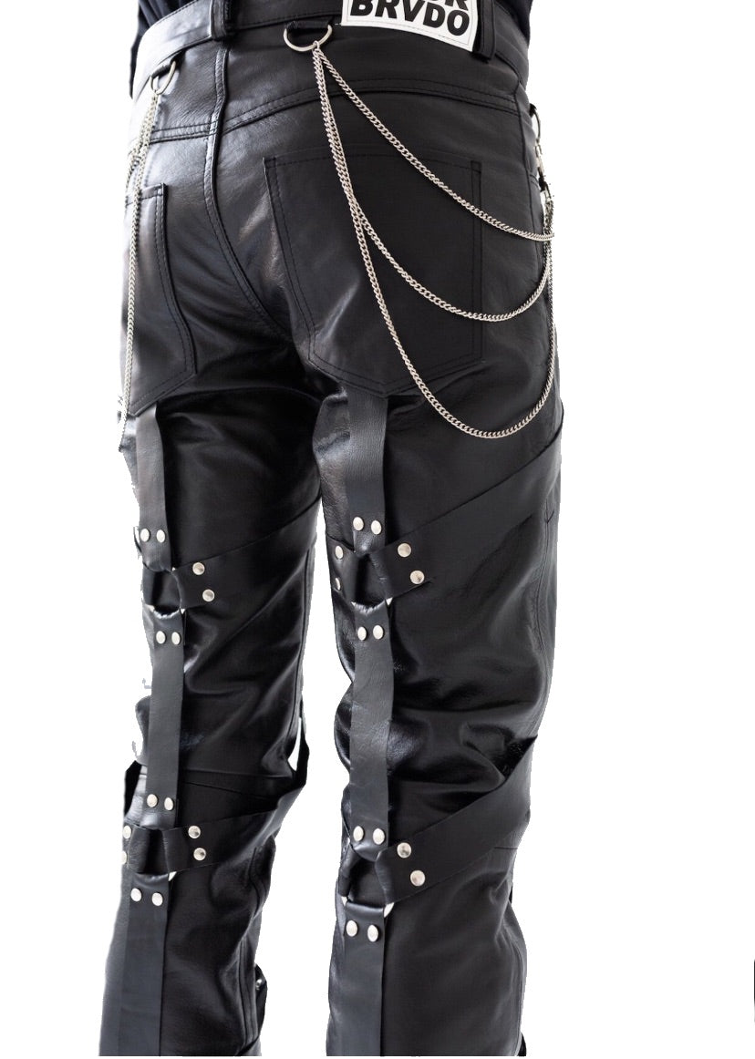 Ev Bravado Leather trouser