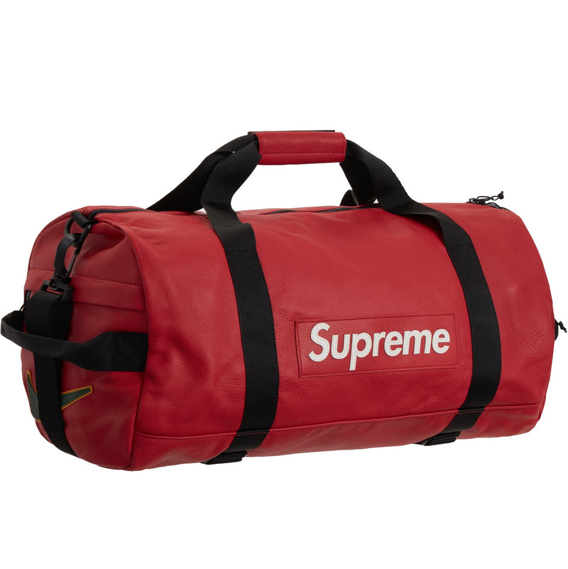 Nike X Supreme leather duffle