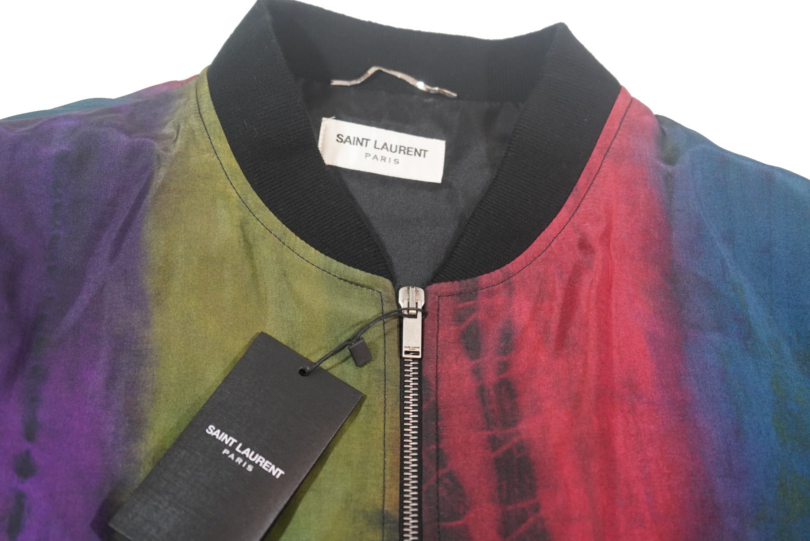 Saint Laurent tie dye jacket