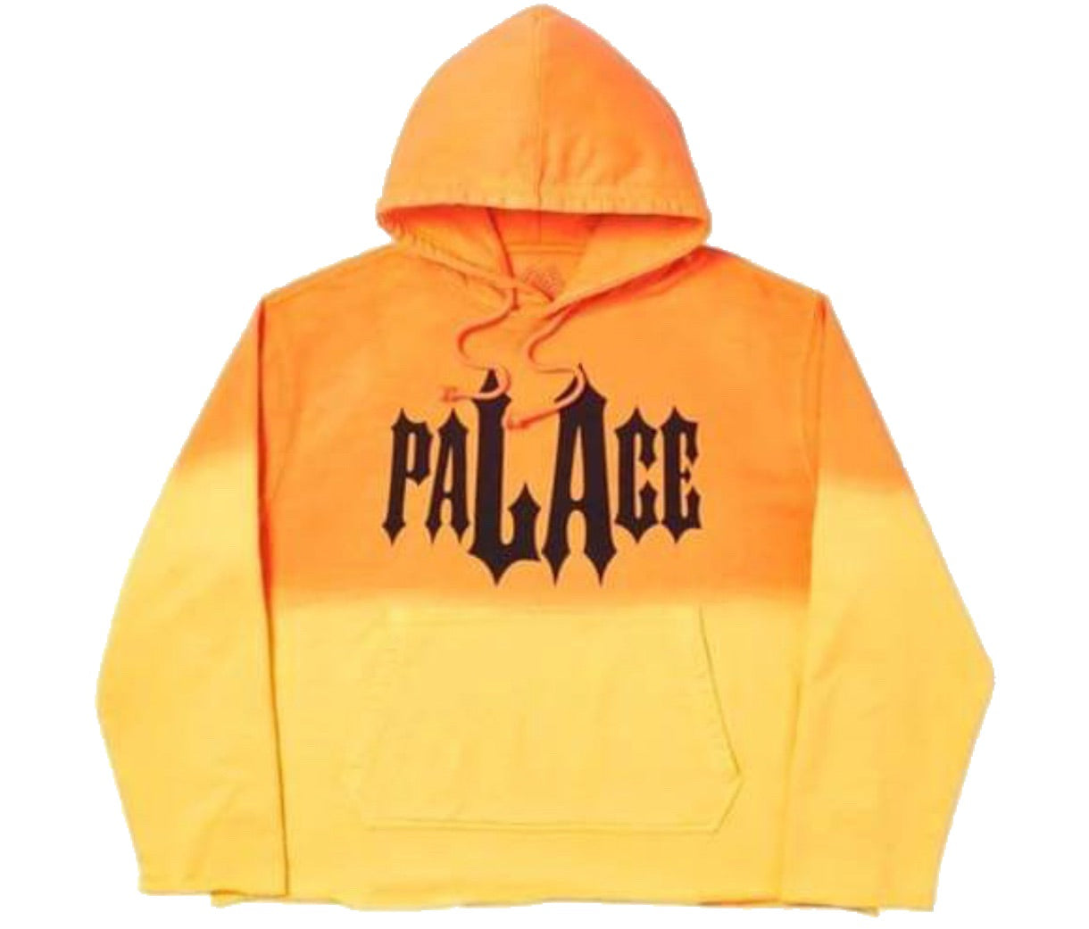 Palace two-toned hoodie