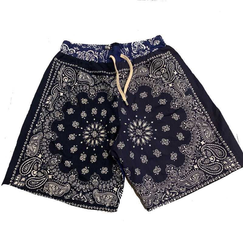 Clothsurgeon Bandana patchwork shorts