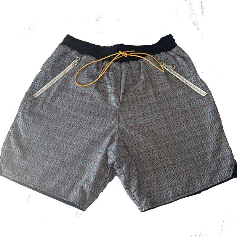 Rhude plaid shorts
