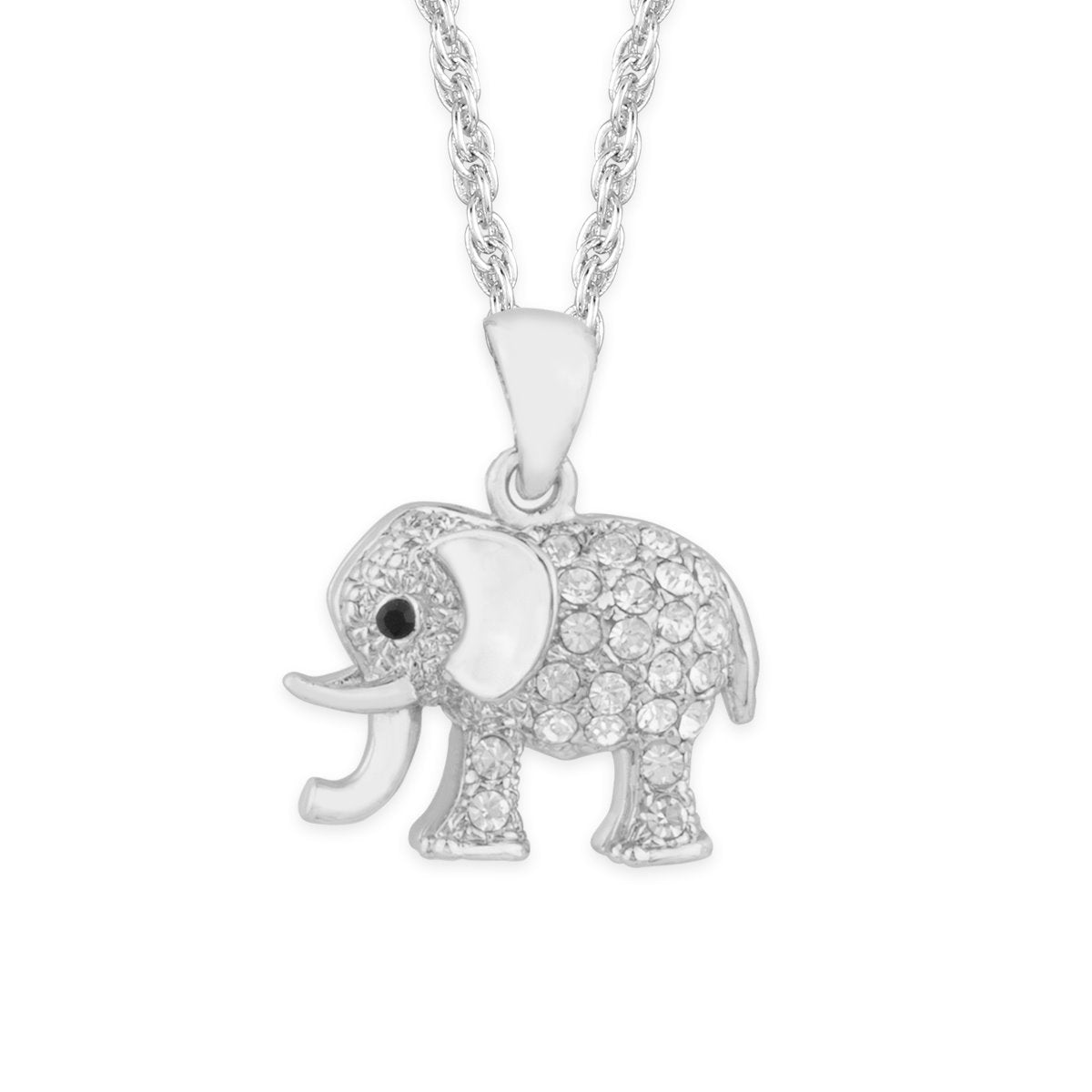 African Elephant Pendant forevercrystals