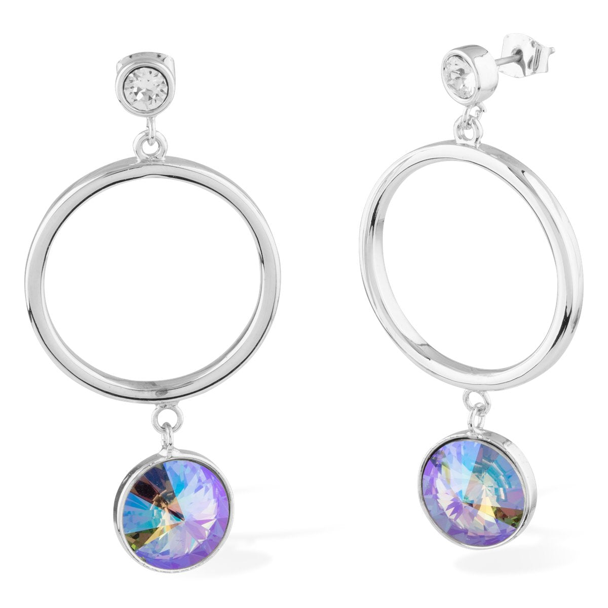 Apollo Earrings Forevercrystals Paradise Shine