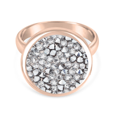 Ara Ring forevercrystals Rose Gold