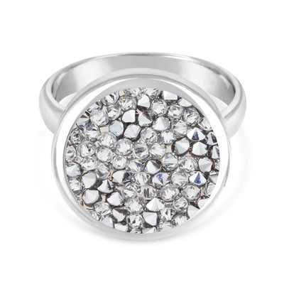 Ara Ring forevercrystals Silver