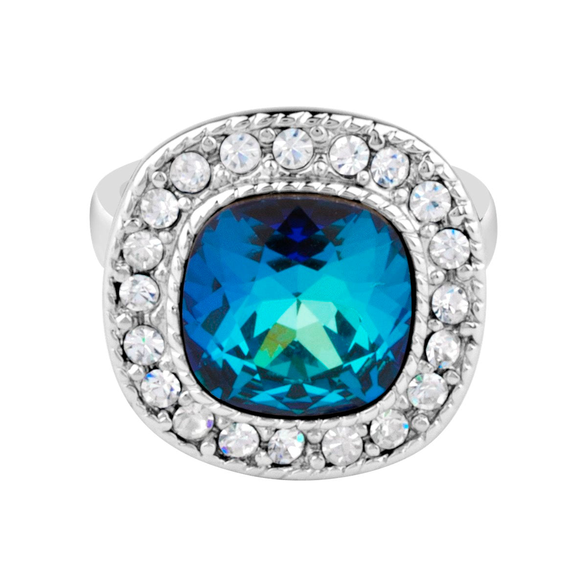 ARNOLFINI RING BERMUDA BLUE RING - FOREVER - ESSENTIALS - BERMUDA BLUE FOREVER