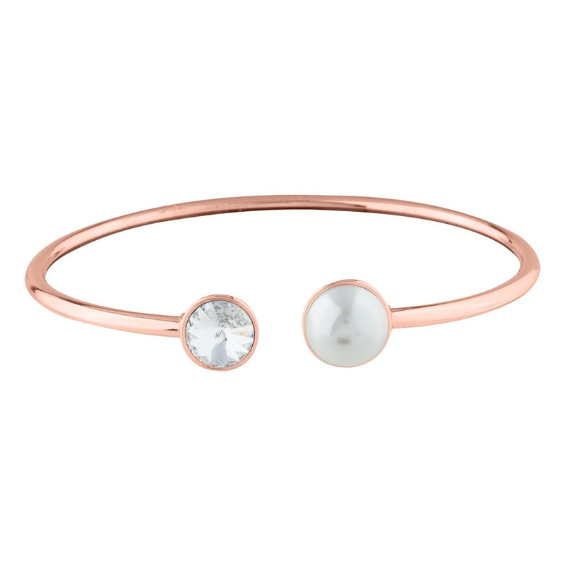 AUDREY BANGLE ROSE GOLD