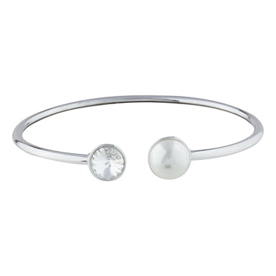 AUDREY BANGLE SILVER Cherish FOREVER