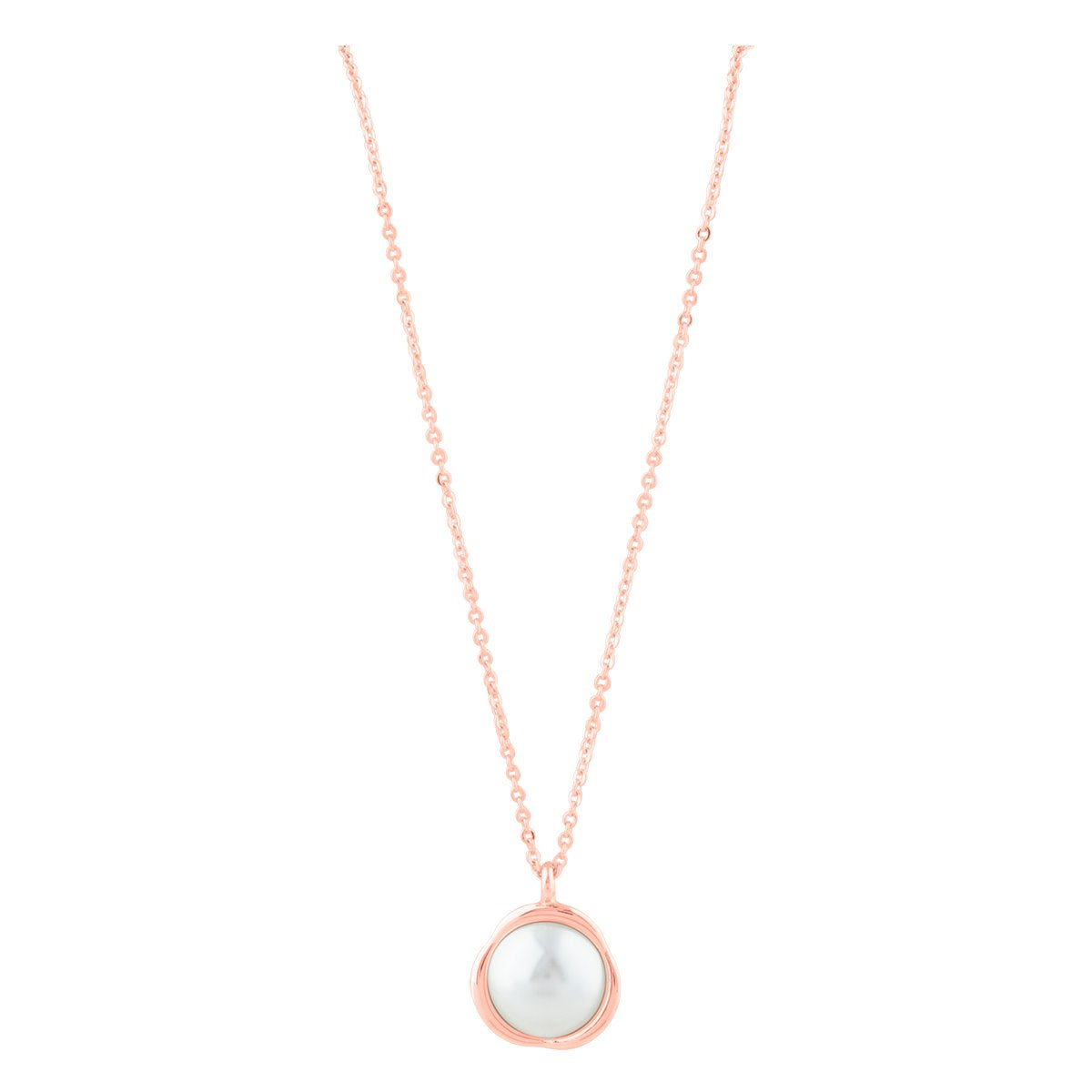 AUDREY NECKLACE ROSE GOLD