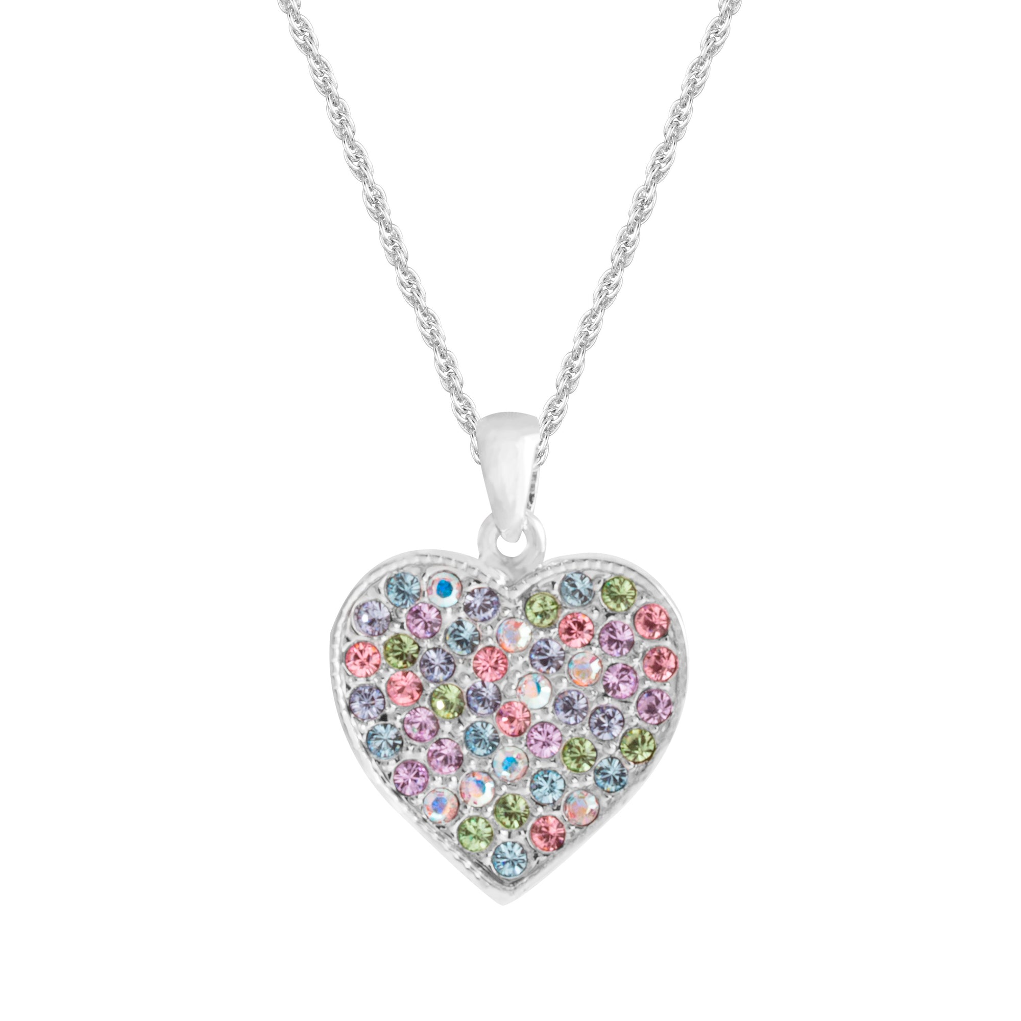 PENDANT AUNT LOVE ENGRAVED LIGHT MULTI