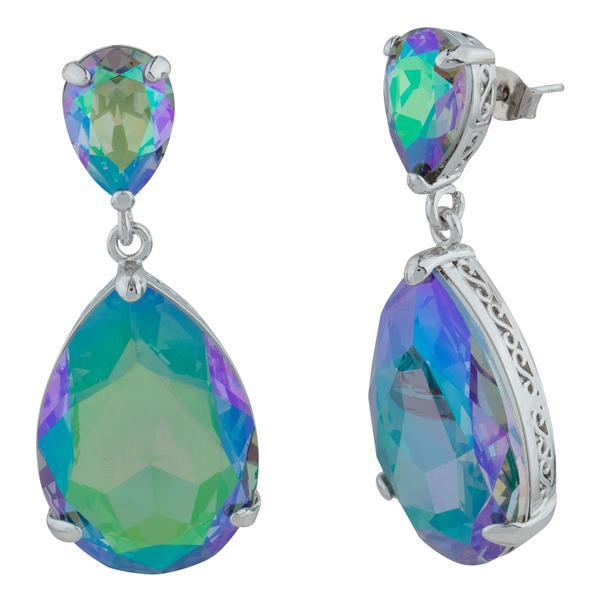 Aurora Drop Earring Welcome to Paradise forevercrystals