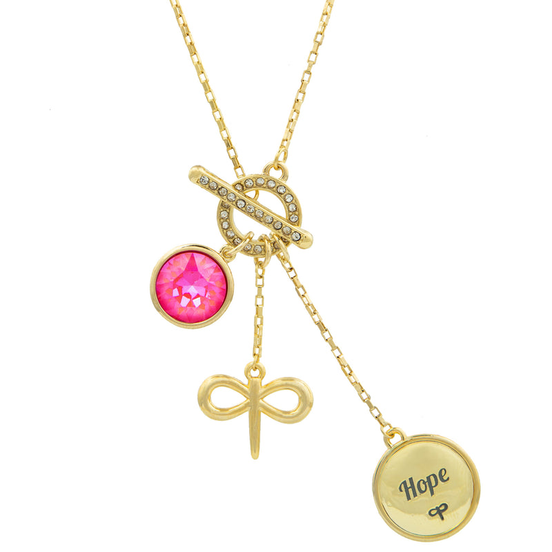 BELIEVE IN YOUR MIRACLE HARMONY NECKLACE Forevercrystals