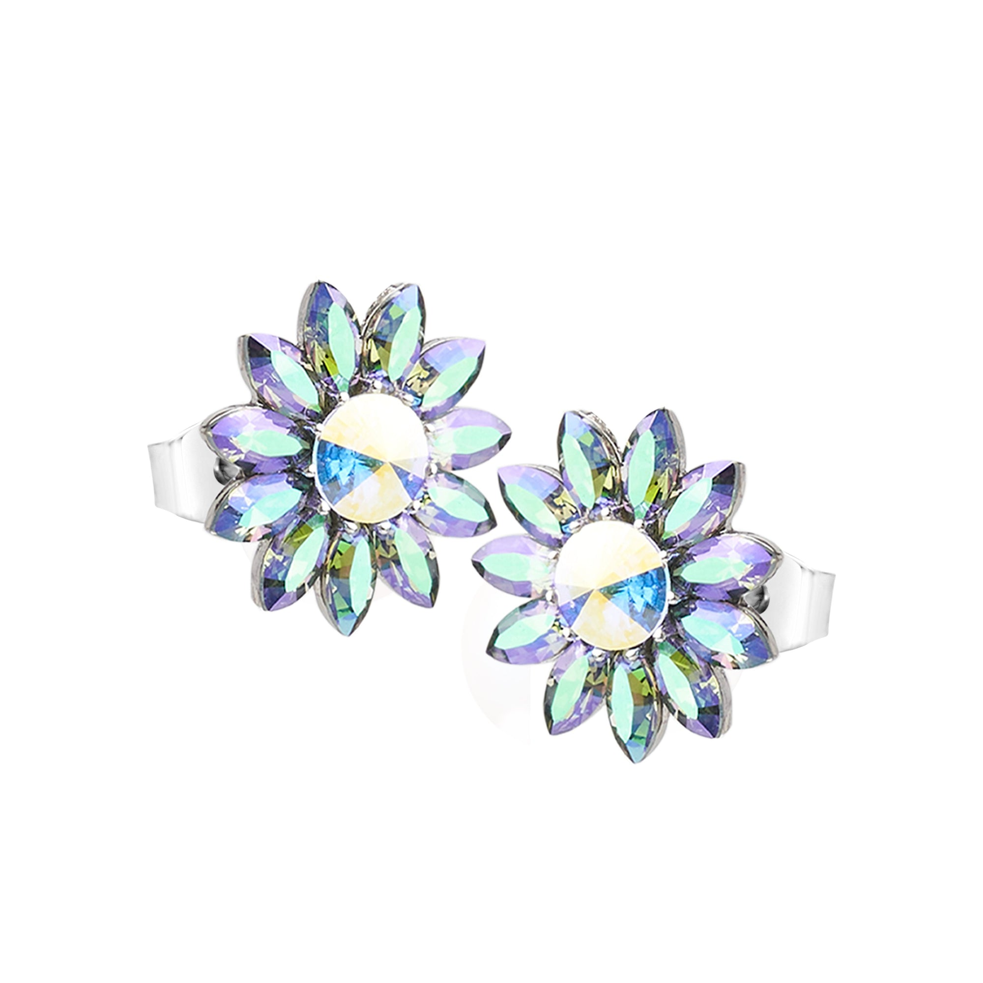 BLOOM HARMONY FLOWER EARRING PARADISE SHINE