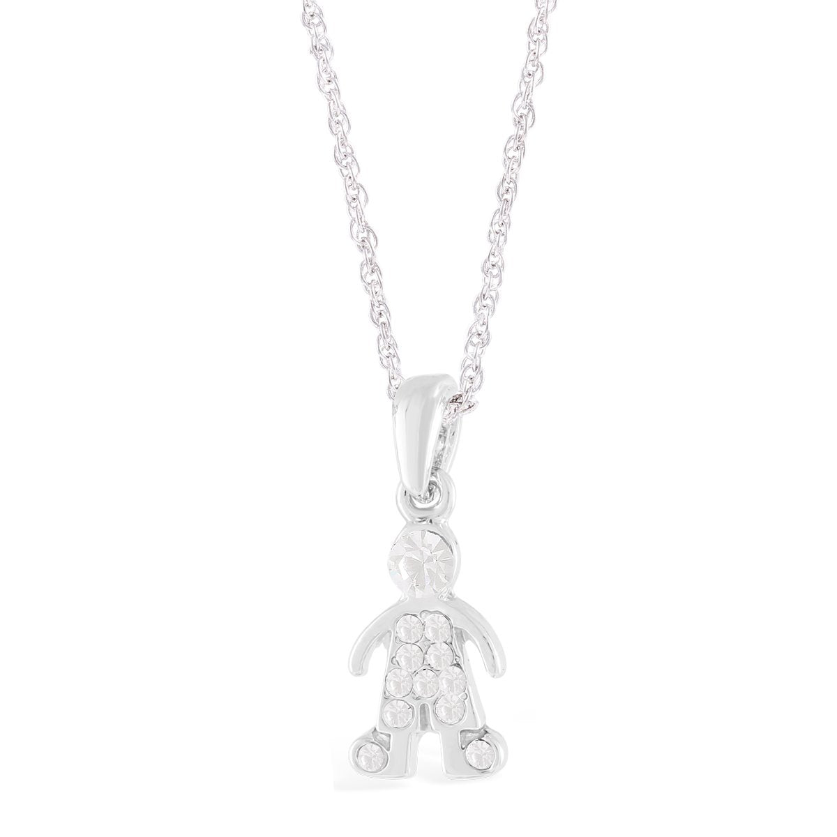 BOY IN CRYSTALS PENDANT CRYSTAL