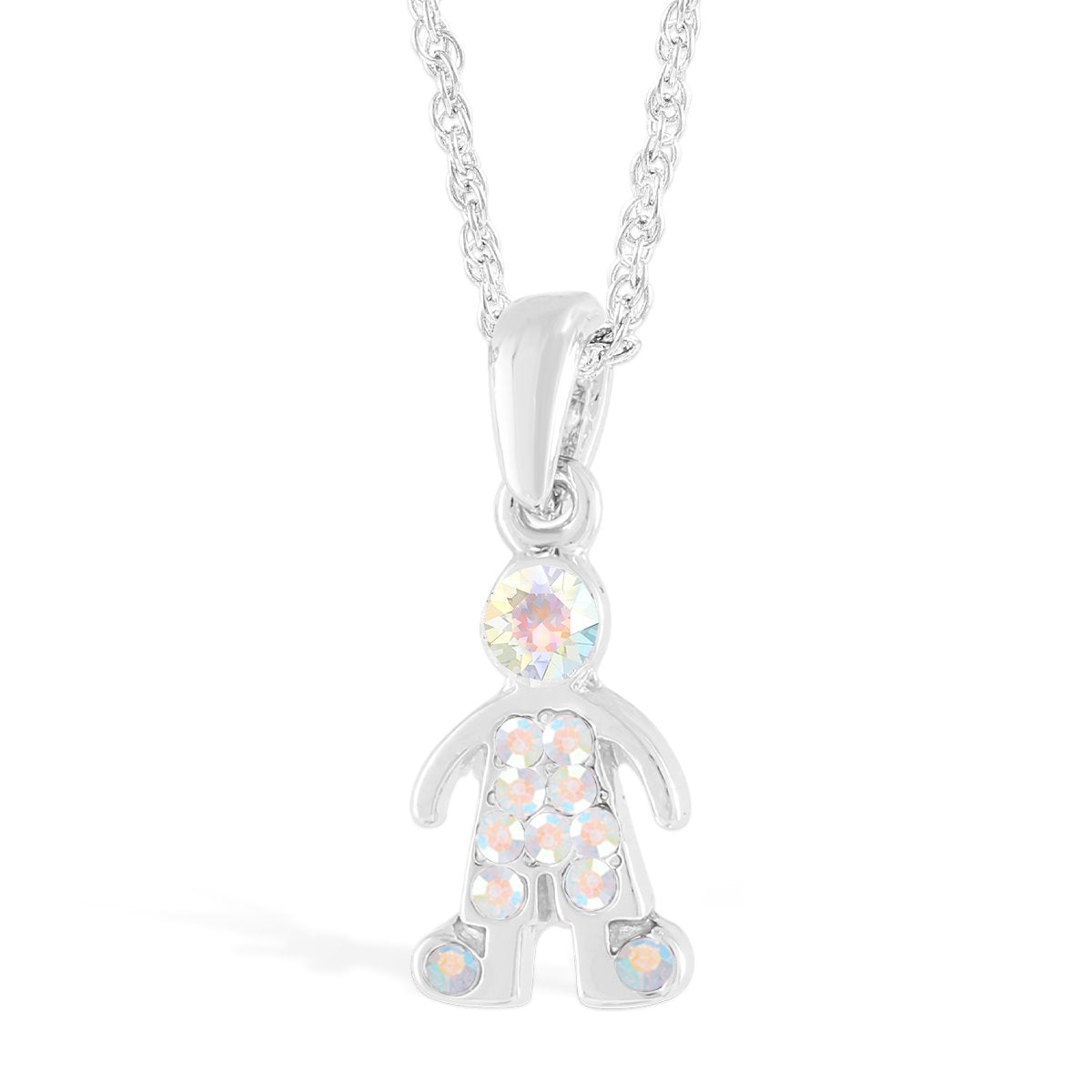 Boy with Crystals Pendant forevercrystals