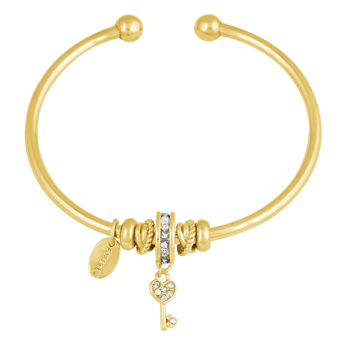 CANIS FLEXI BANGLE BRACELET GOLD CAL
