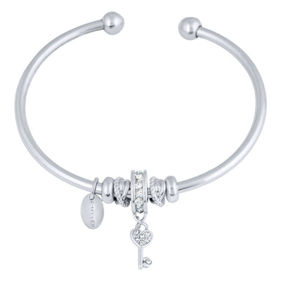 CANIS FLEXI BANGLE BRACELET SILVER CAL CONSTELLATION 2020 FOREVER CRYSTALS