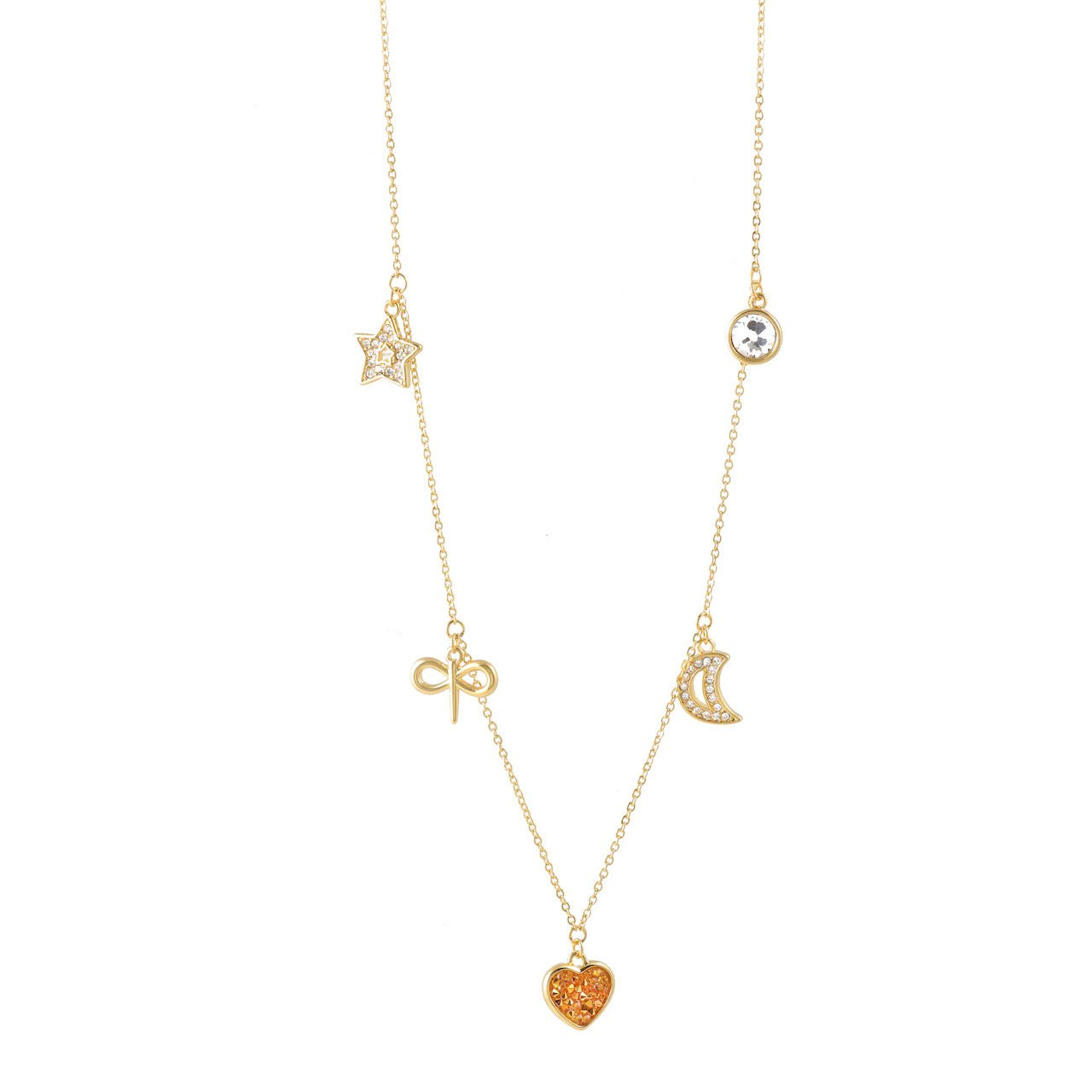 Celebrating Women 2021 Charm Necklace Gold