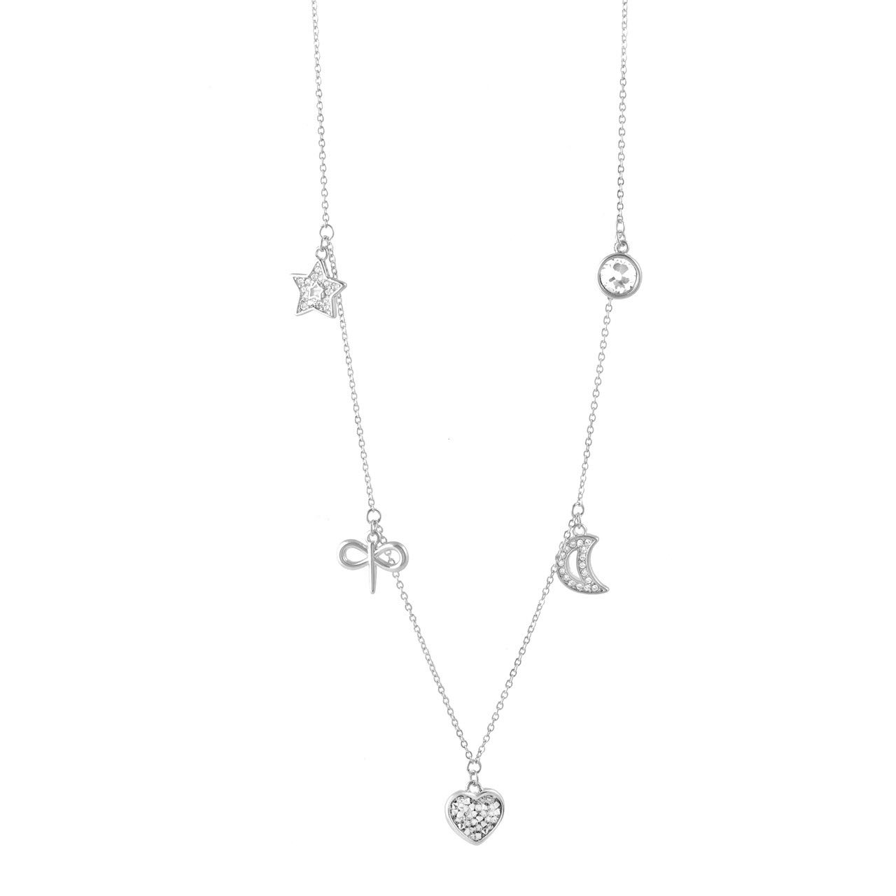 Celebrating Women 2021 Charm Necklace Silver
