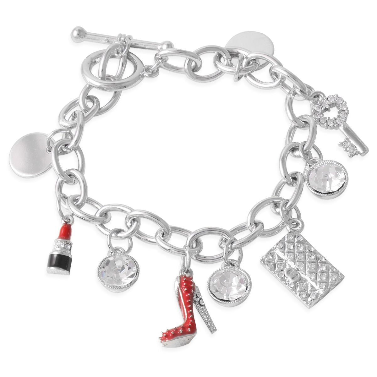 Celebrating Women Charm Bracelet forevercrystals