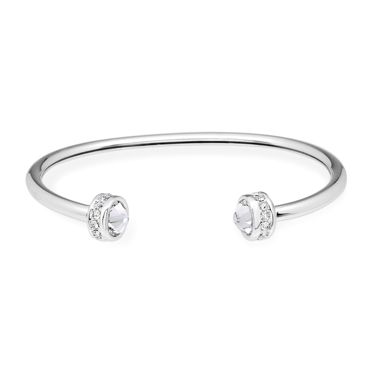 Chiara Bangle Bracelet forevercrystals Crystal