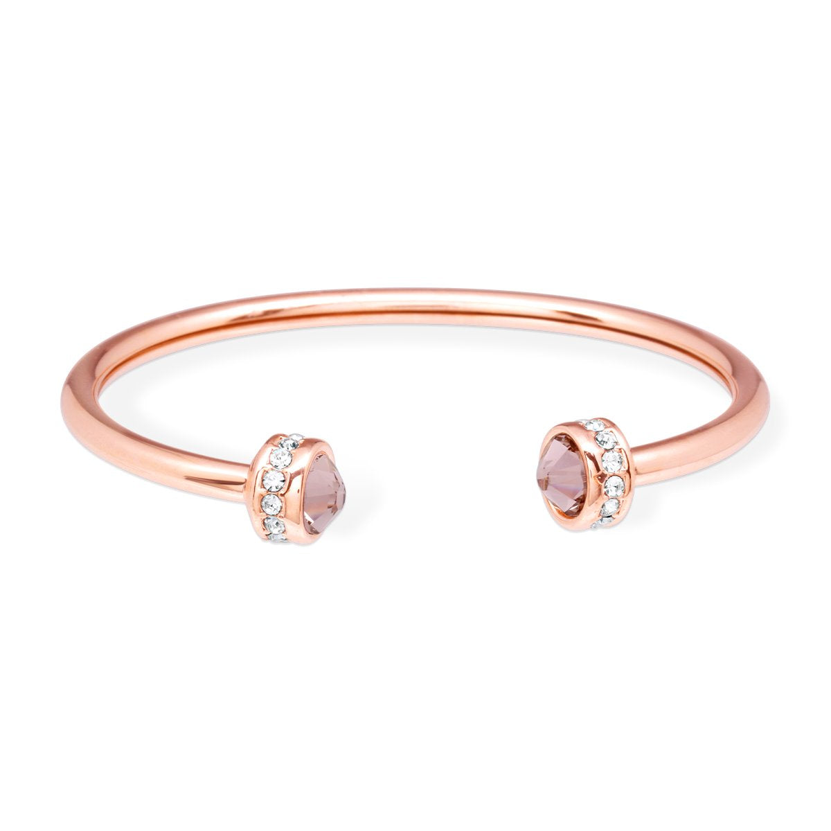 Chiara Bangle Bracelet forevercrystals Rose