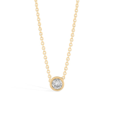 Denia Necklace forevercrystals Gold