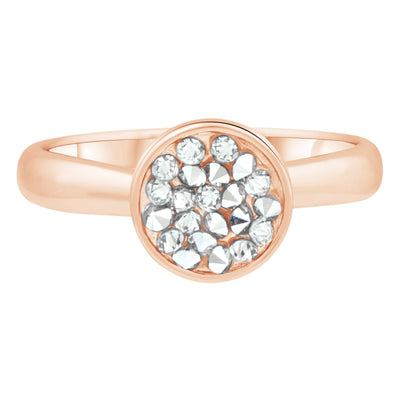 DORADO PETITE RING ROSE GOLD CAL CONSTELLATION 2020 FOREVER CRYSTALS