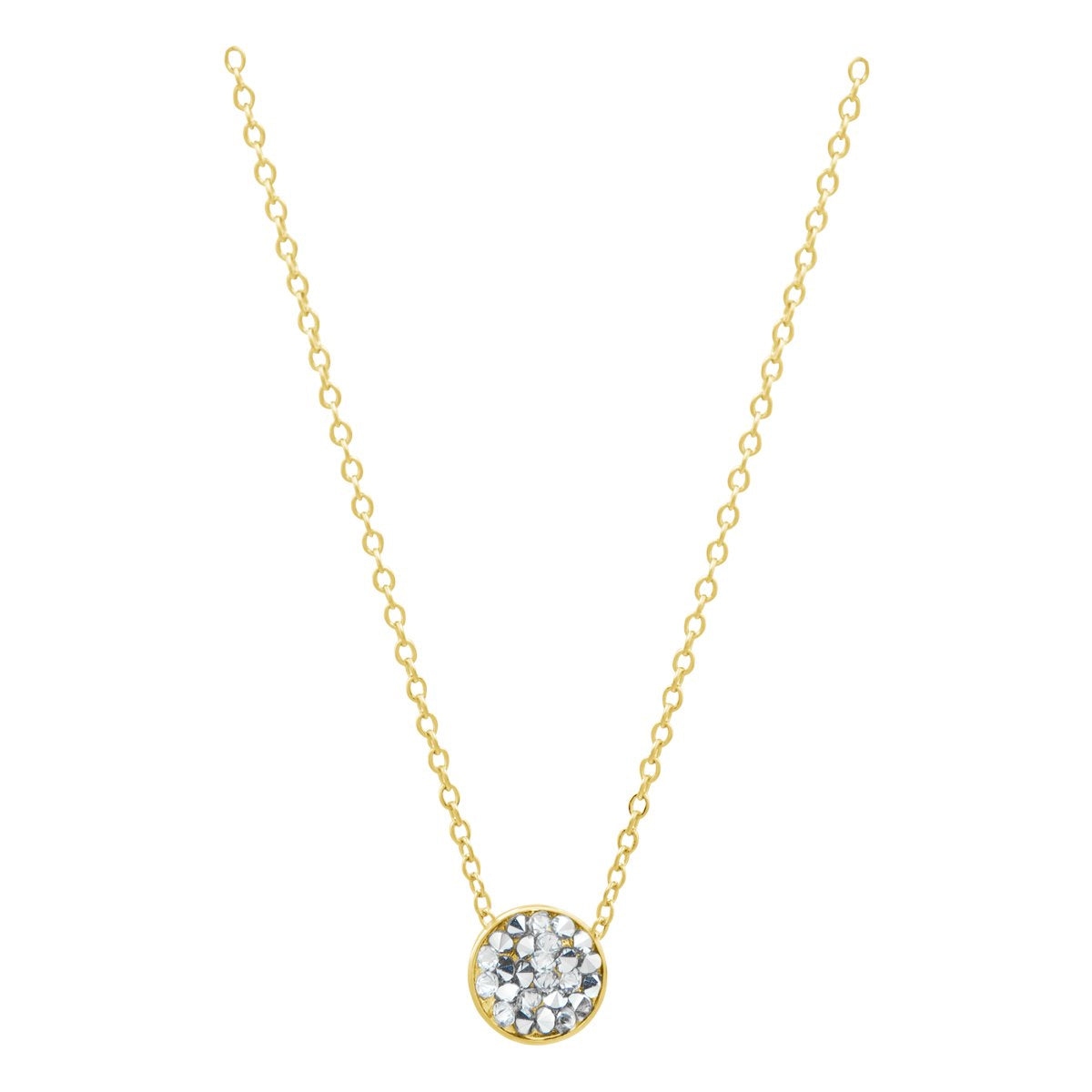 DORADO PETITE SLIDER NECKLACE GOLD CAL