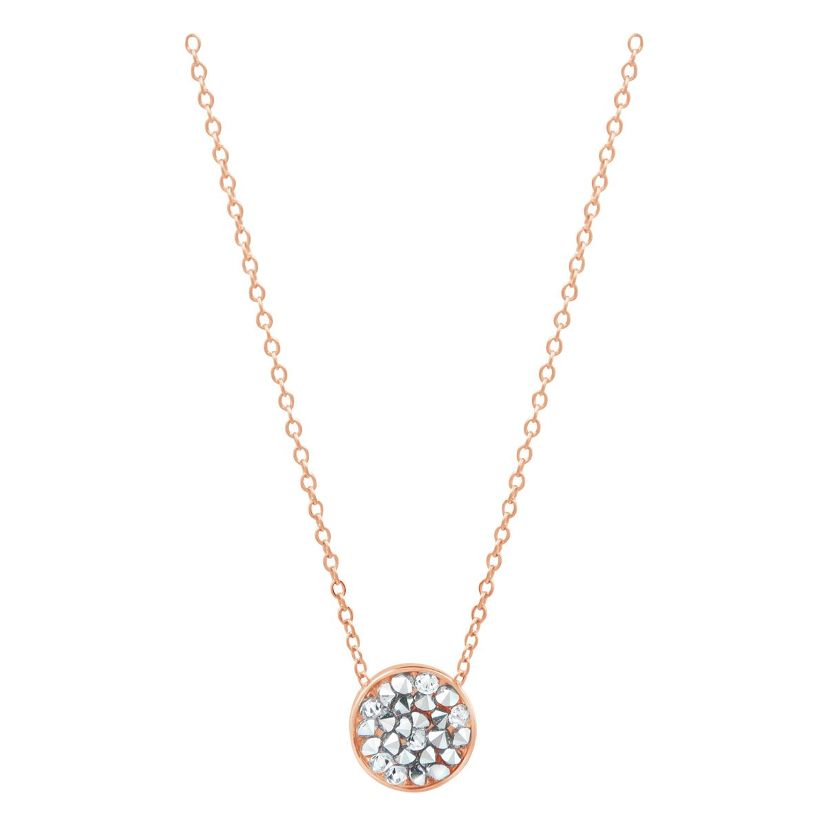 DORADO PETITE SLIDER NECKLACE ROSE GOLD CAL