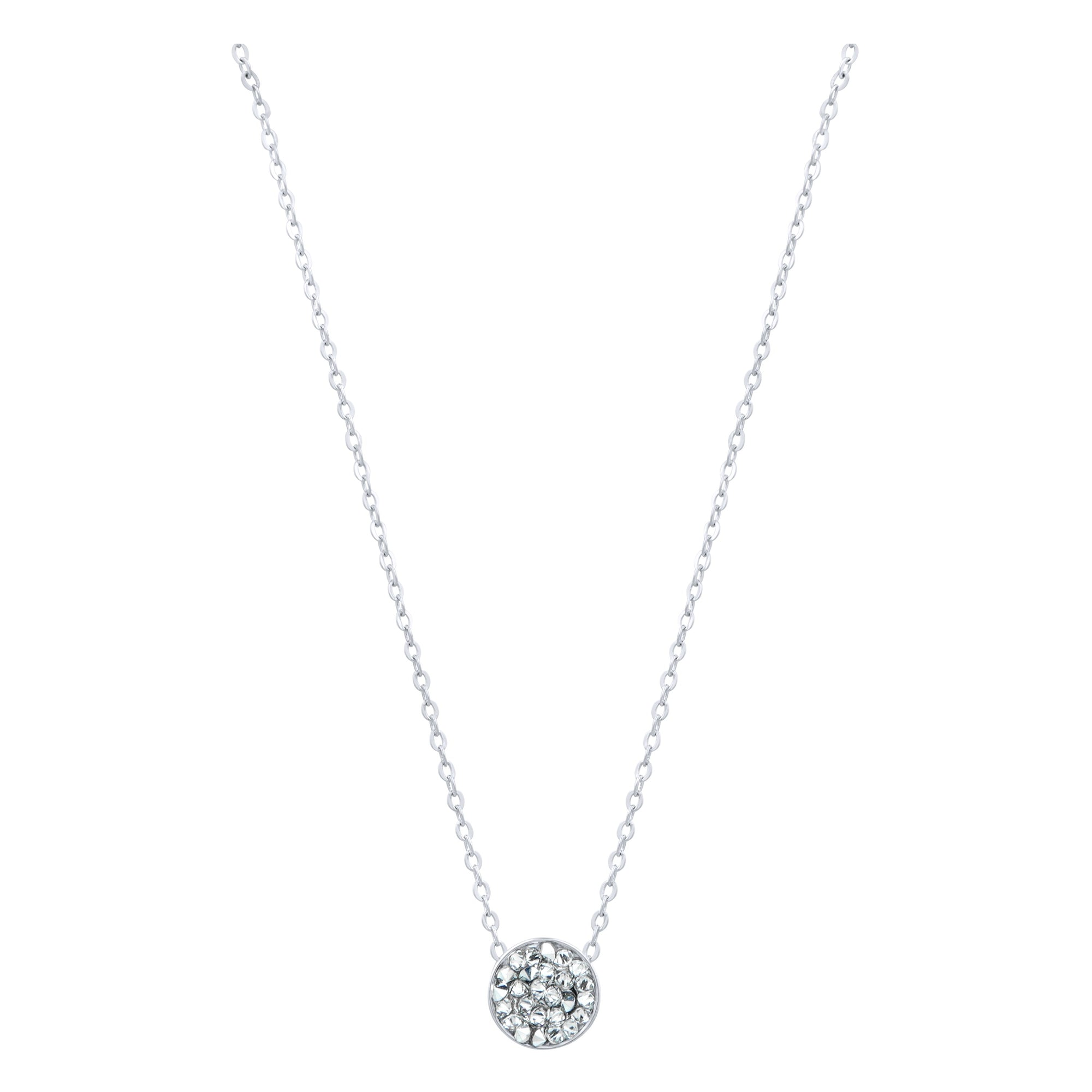 DORADO PETITE SLIDER NECKLACE SILVER CAL