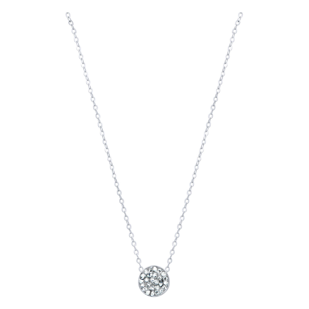 DORADO PETITE SLIDER NECKLACE SILVER CAL CONSTELLATION 2020 FOREVER CRYSTALS