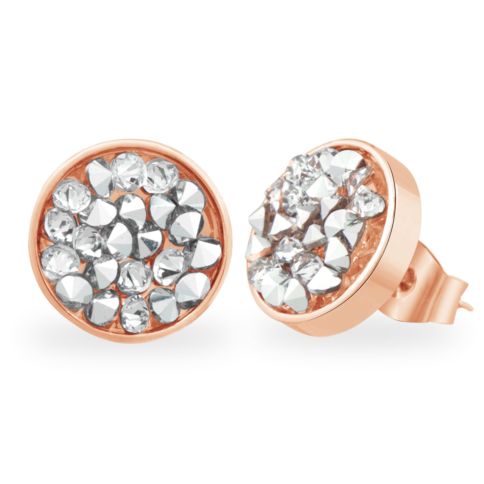 DORADO STUD EARRING ROSE GOLD CAL