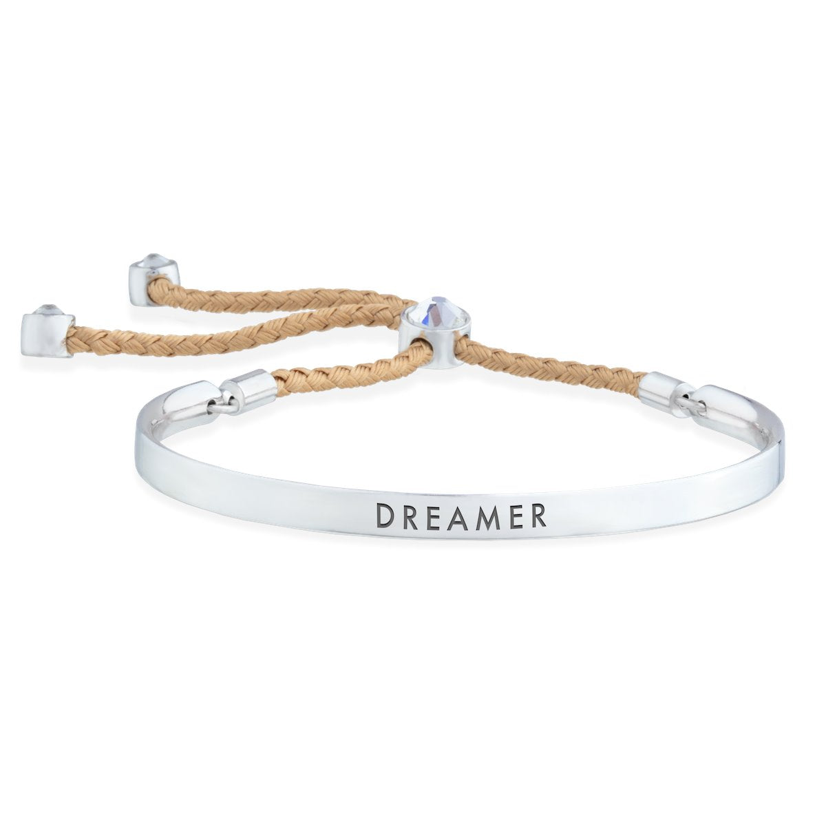 Dreamer – Words of Empowerment Bracelet forevercrystals