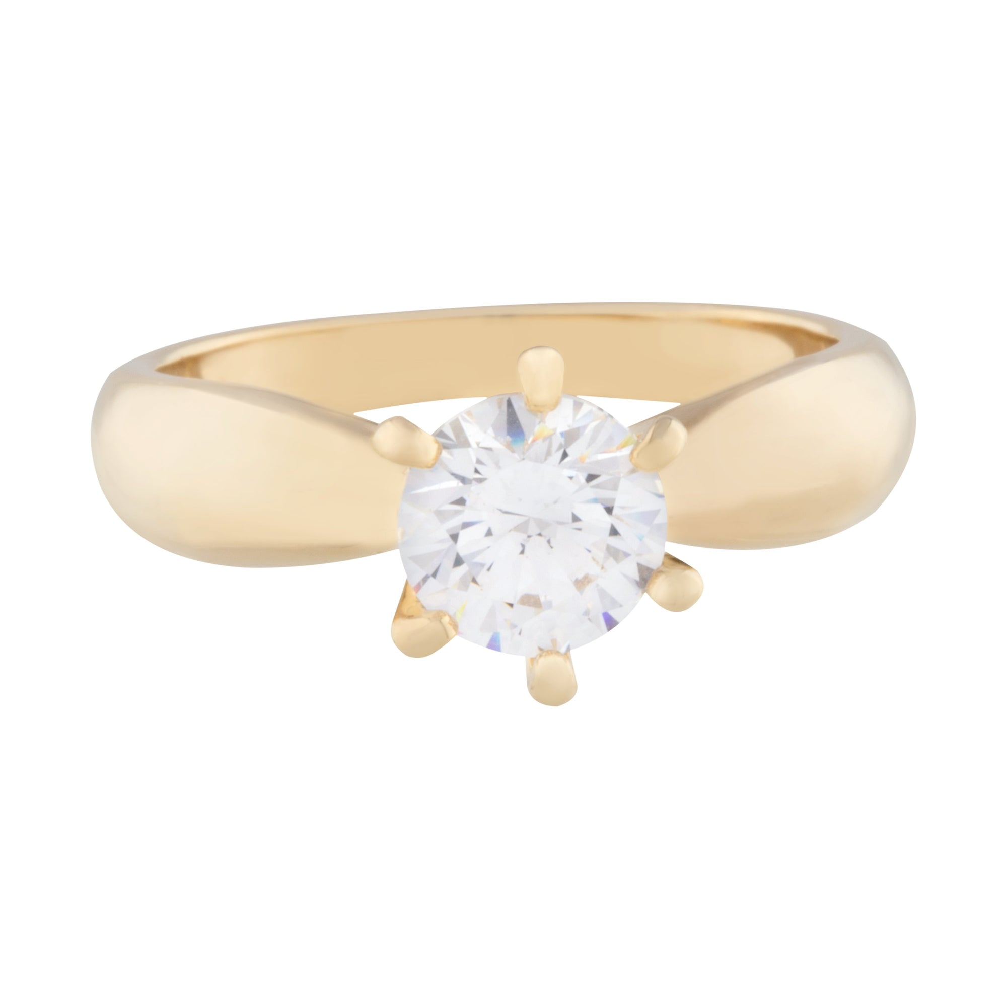 Elizabeth Solitaire Ring Forevercrystals