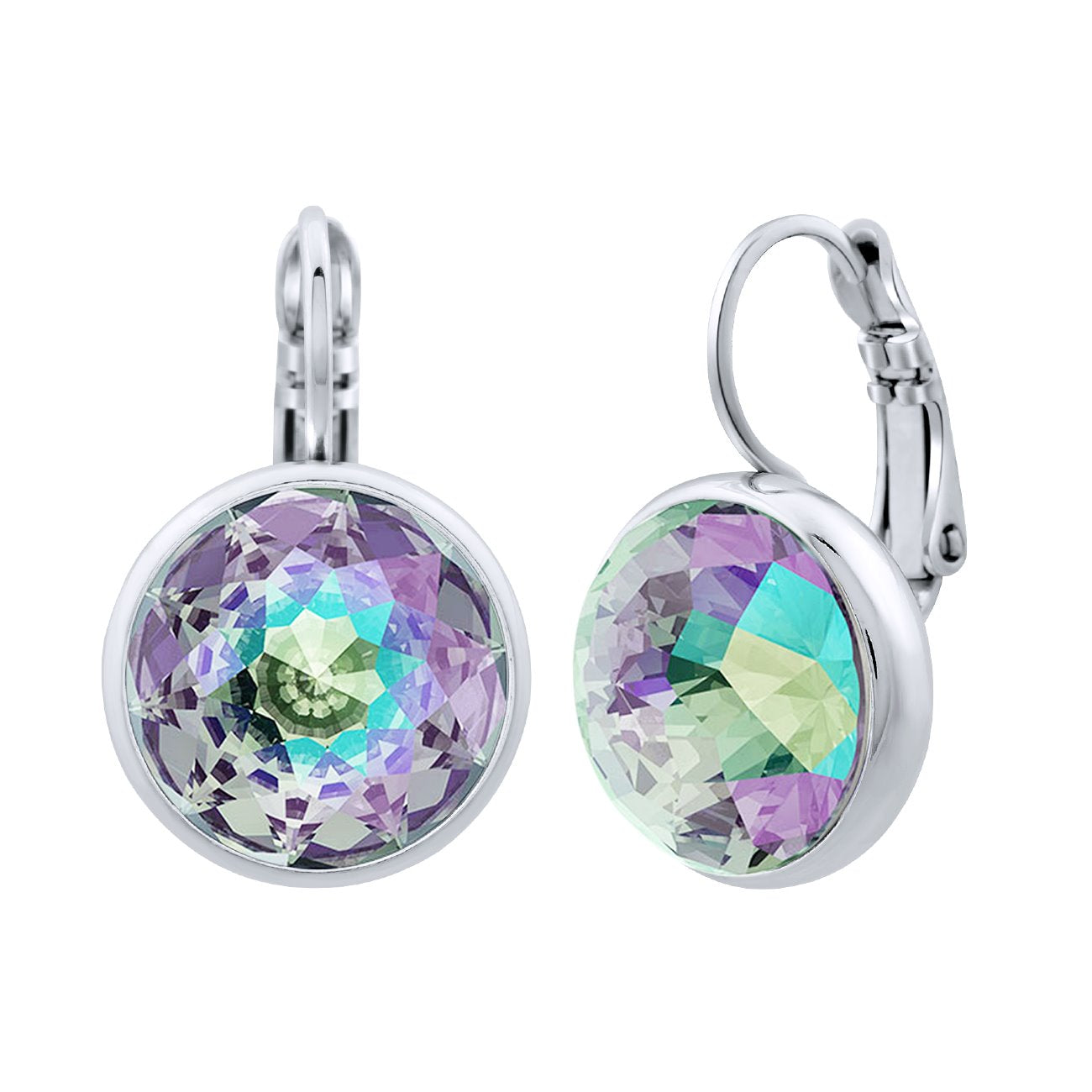Elysees Huggie Earrings silver Paradise Shine JOY OF SPARKLE FOREVER CRYSTALS