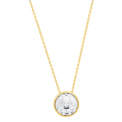 Elysees Necklace Gold Crystal JOY OF SPARKLE FOREVER CRYSTALS