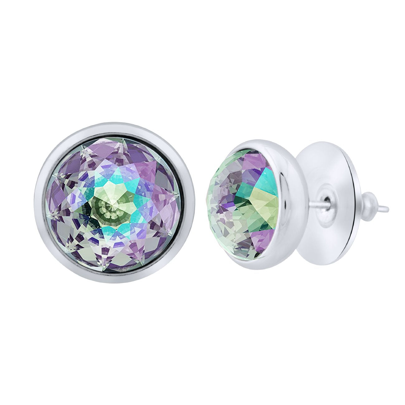 Elysees Stud Earrings silver Paradise Shine JOY OF SPARKLE FOREVER CRYSTALS