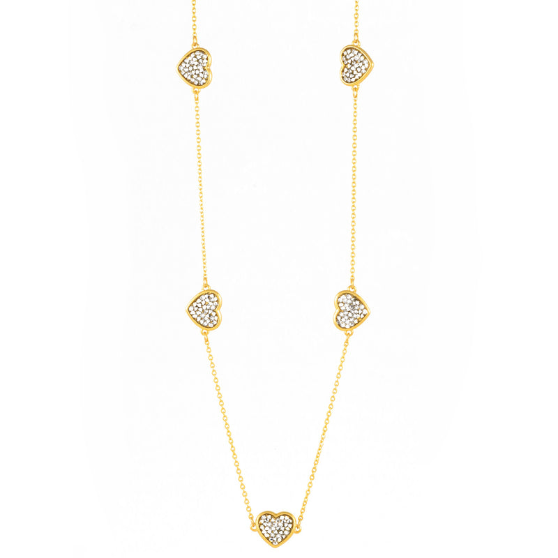 FEEL THE LOVE NECKLACE GOLD CAL
