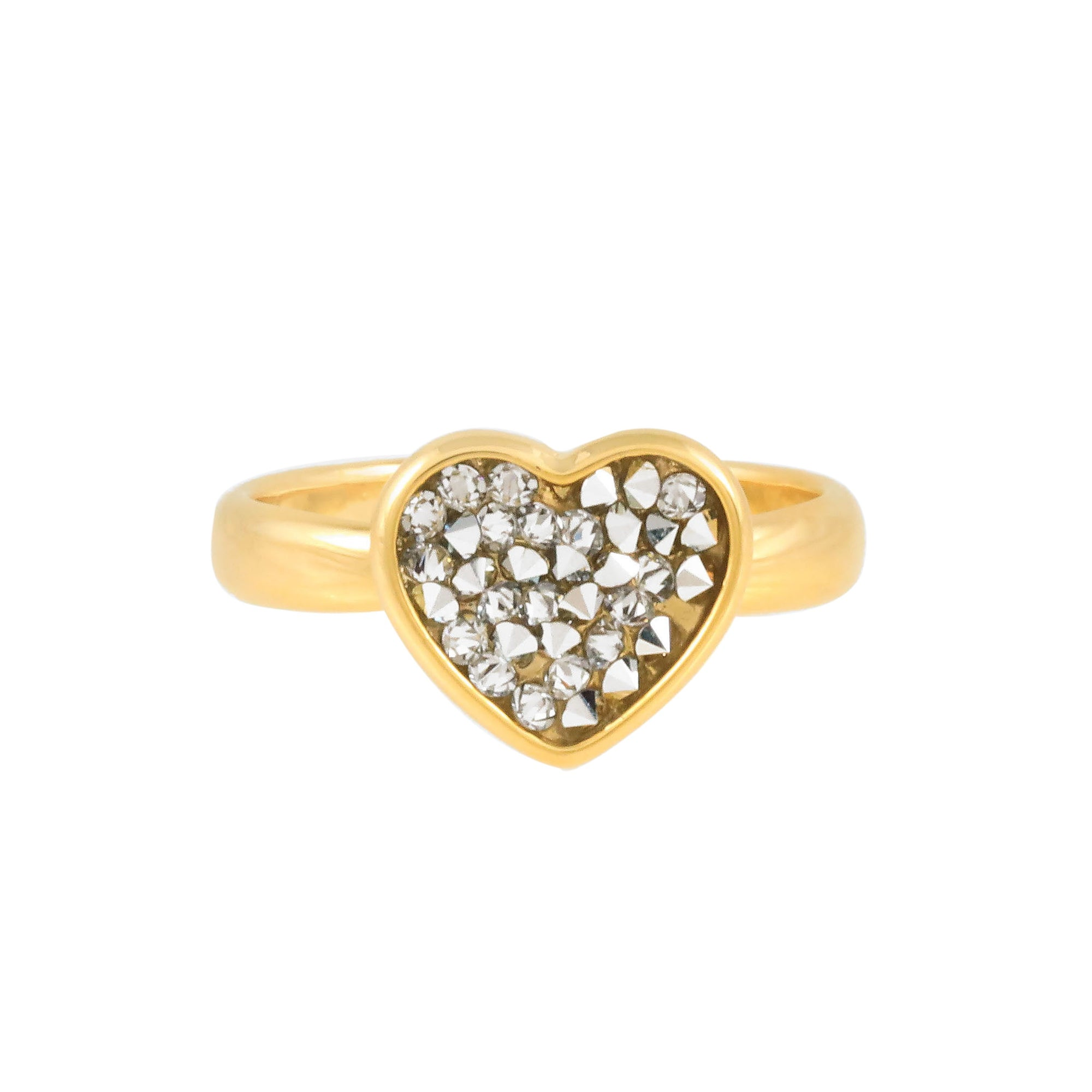 FEEL THE LOVE RING GOLD CAL