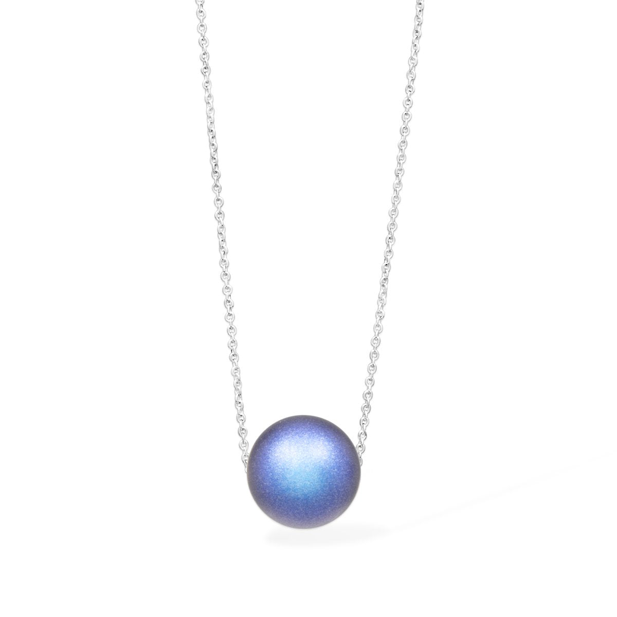 Gigi Pearl Necklace forevercrystals Sapphire Pearl