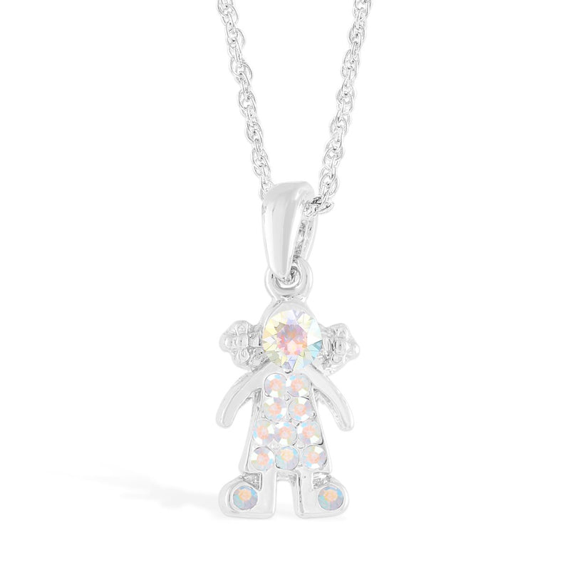 Girl in Crystals Pendant
