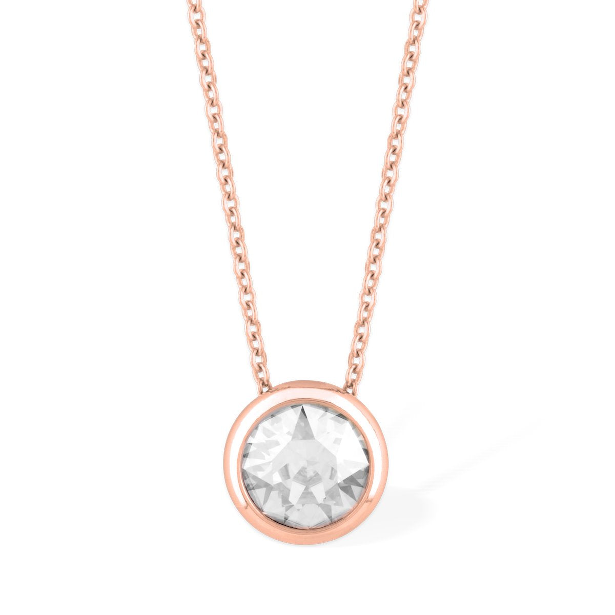 Grace Necklace forevercrystals Rose Gold