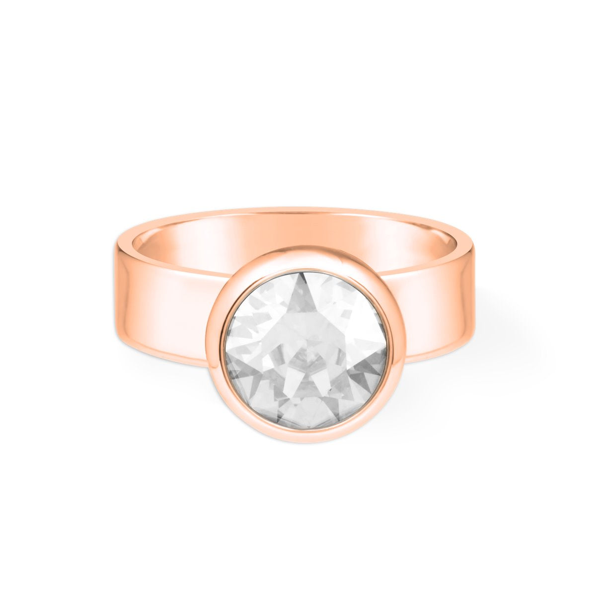 Grace Ring forevercrystals Rose Gold