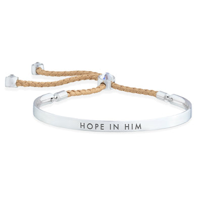 Hope in Him – Words of Empowerment Bracelet forevercrystals