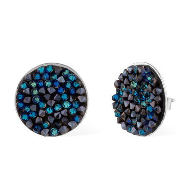 Hydra Earrings forevercrystals Bermuda Blue